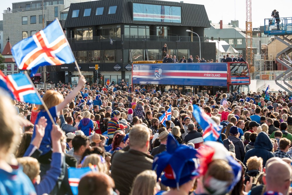 Women's Icelandic Football Team Jerseys Cost Twice As Much As Men's
