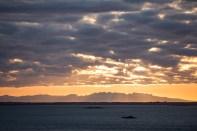 Sunset over The Snæfellsnes Peninsula