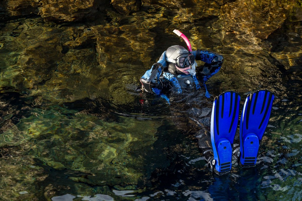 Swimming In Silence: A Scintillating Snorkel Between Continents In The Silfra Fissure