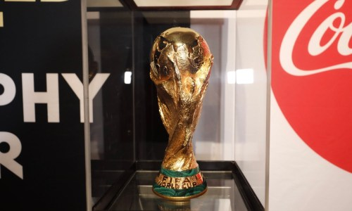 The World Cup Trophy Visits Its Future Home: Iceland