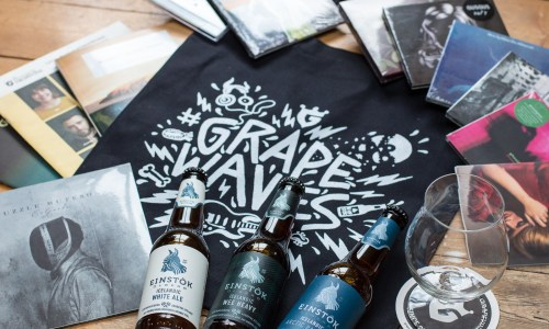 #GrapeWaves Is Go! Win Amazing Einstök X Grapevine Goodie Bags!