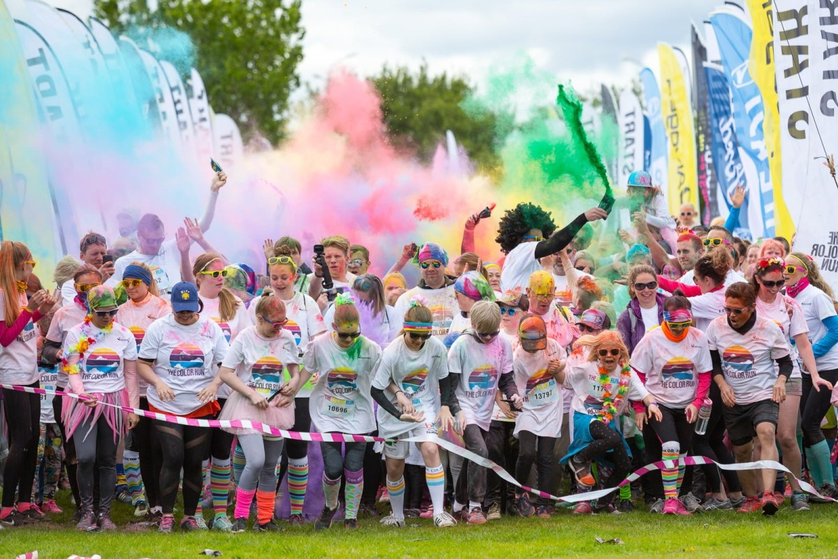 Pictures: The Color Run Iceland 2017