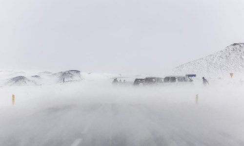 Awful Weather And Possible Avalanches In North Iceland