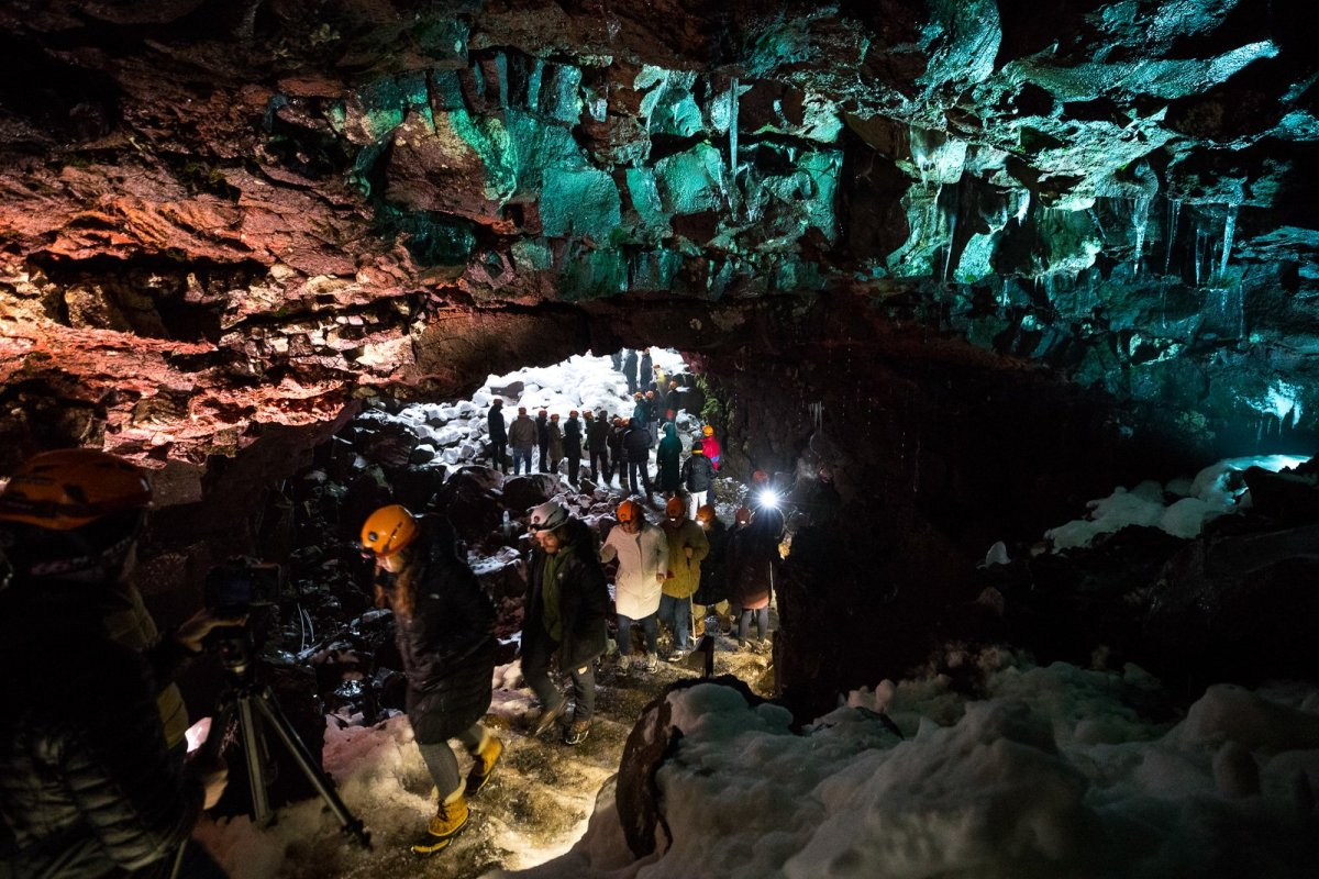 Enter The Underworld: Lava Tubes And Ghosts In South Iceland