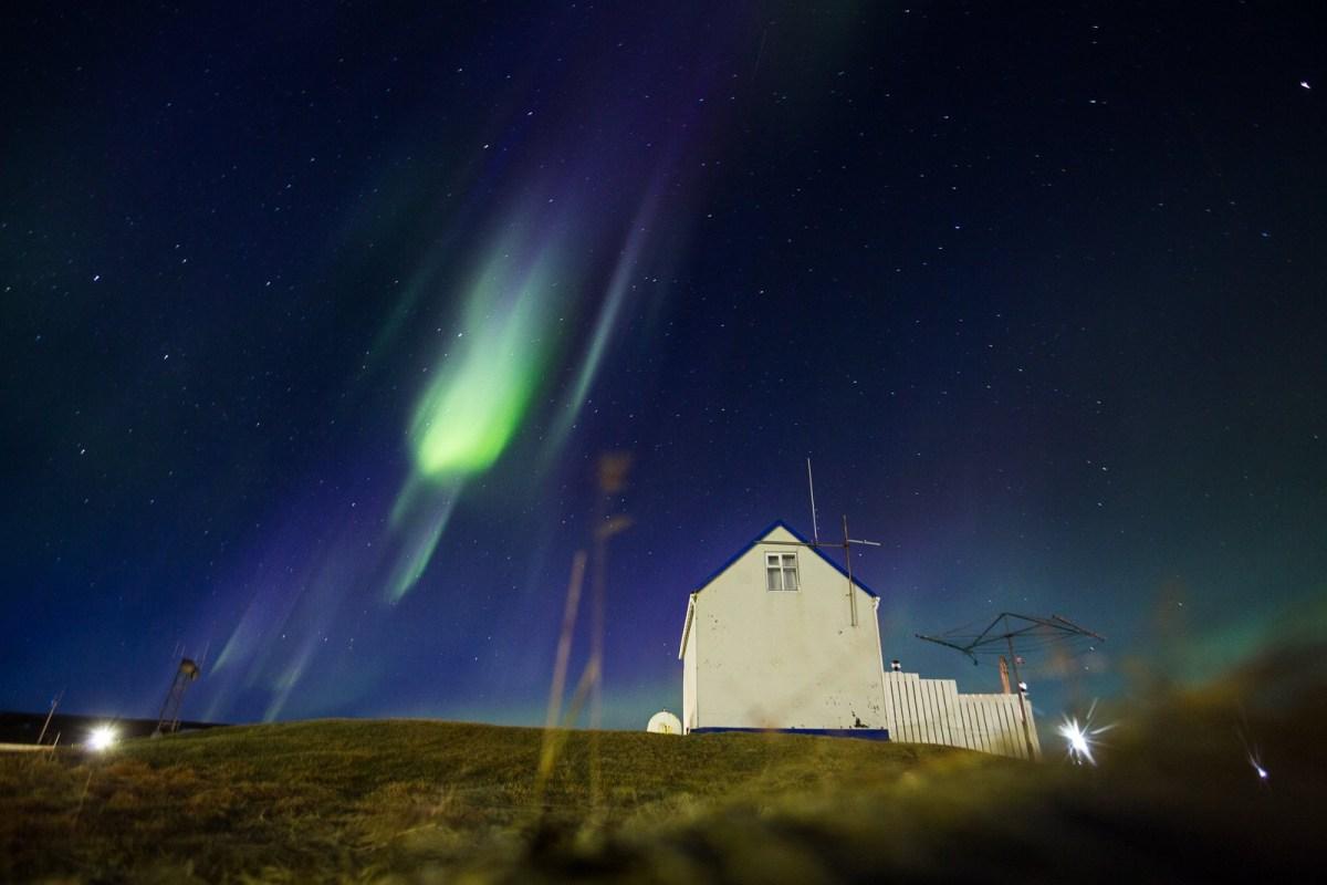 Last Chance For Aurora Borealis?