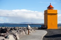 Keflavik coast by Art