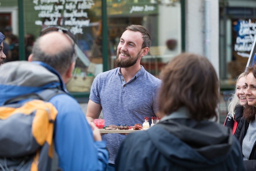 Tagging Along With The Reykjavík Food Walk