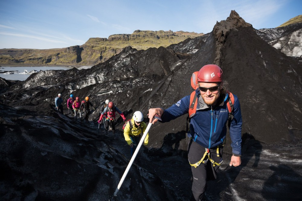 Over The Black Glacier: Trekking Sólheimajökull