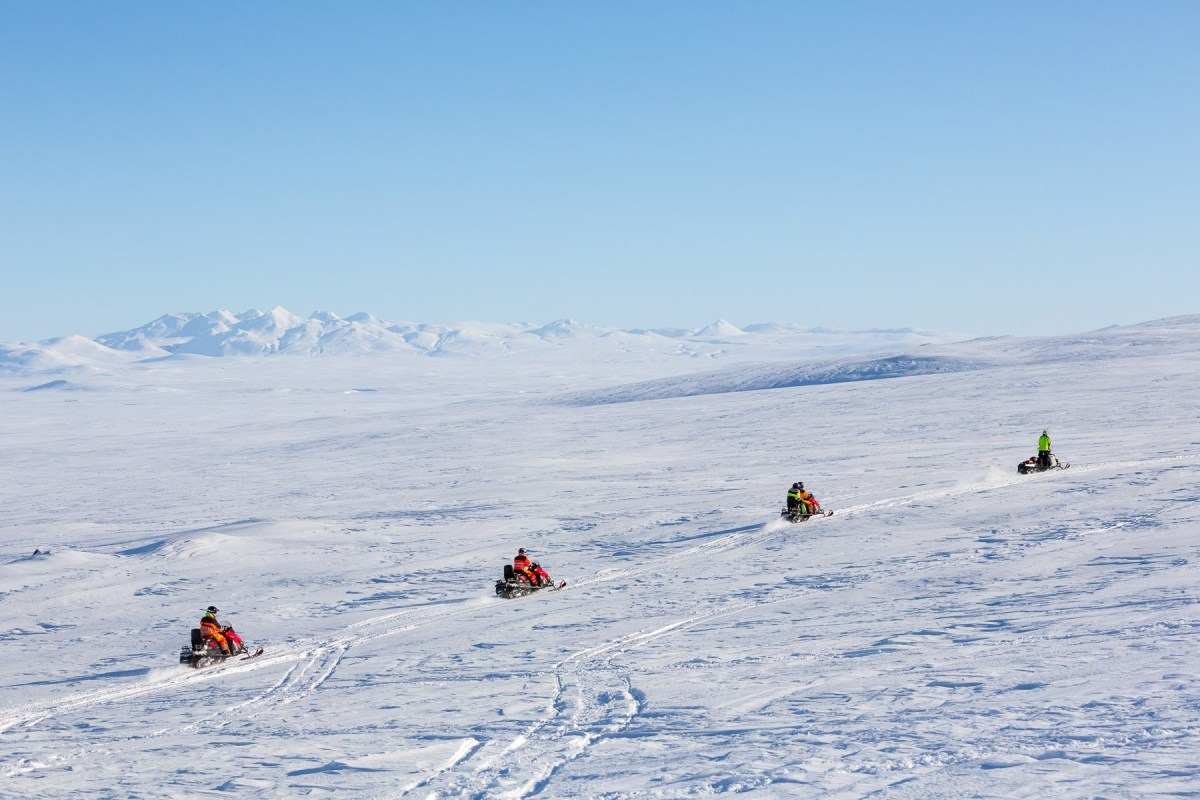 Release Your Inner Adrenaline Junkie: Snowmobiling On Langjökull