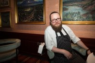 Head chef Ragnar