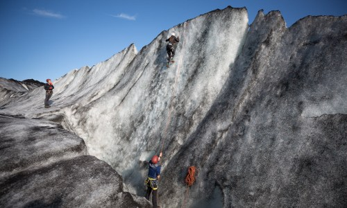 Over Blue Ice: A Day Spent Hiking And Climbing On Sólheimajökull Glacier