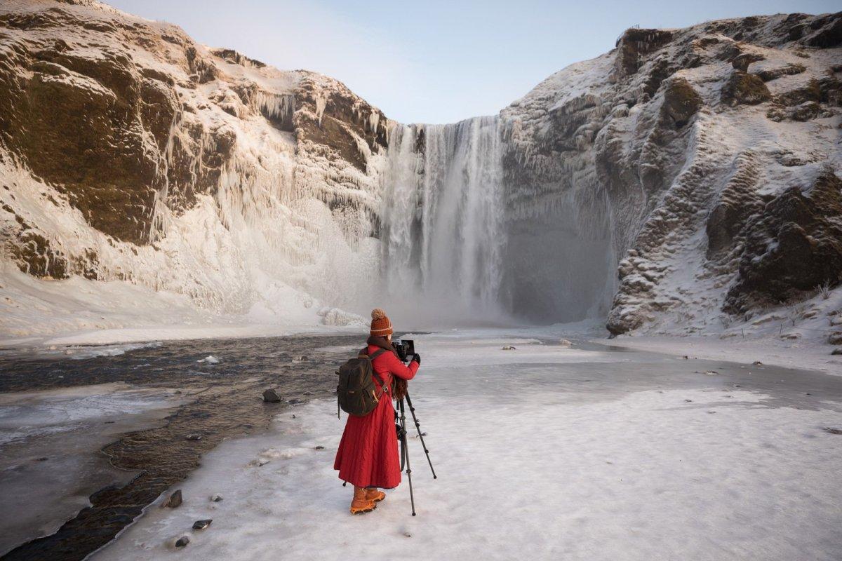 Race Against The Sun: The Icy Wonderland Of Skógafoss And Jökulsárlón