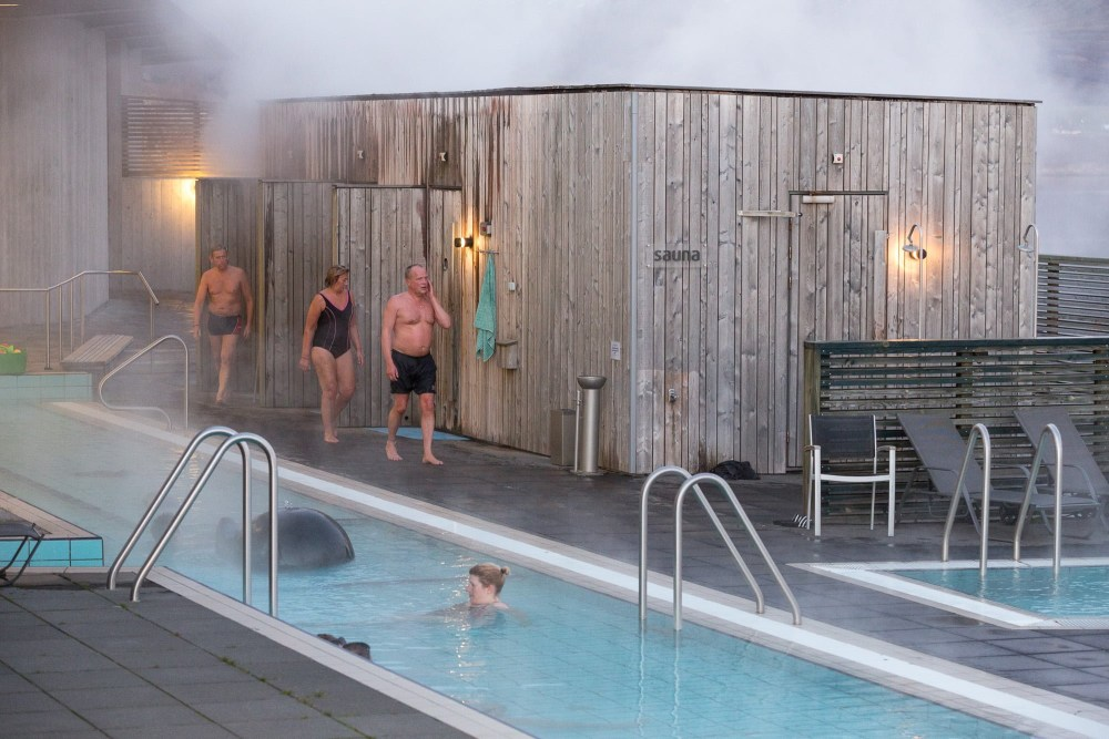 Fontana And The Hot Springs Of Laugarvatn