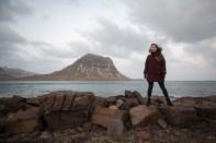 Jessica in Grundarfjörður by Art