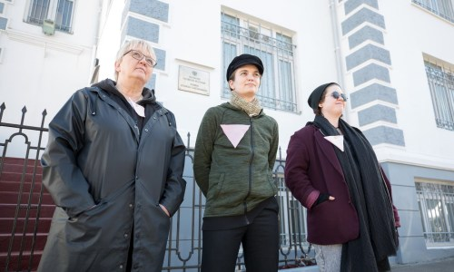 Queer Rights Activists Descend On Russian Embassy