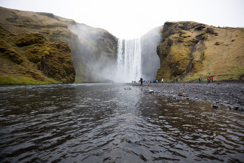 Skógafoss is where Thor took Natalie Portman on their first date