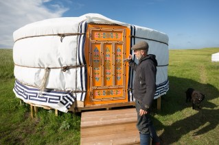 A Mongolian yurt in South iceland...