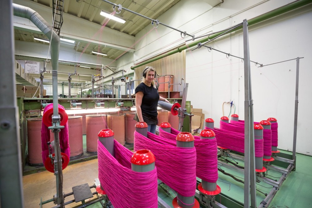 Made In Iceland: A Look Inside Iceland's 120-Year-Old Wool Industry
