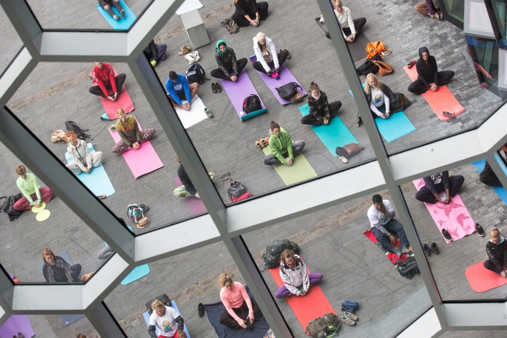 Grab Your Mat And Get In Position As We Celebrate The International Day Of Yoga