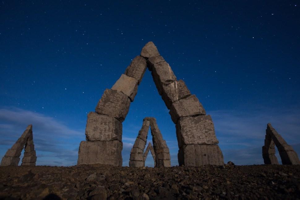Arctic Henge by Art Bicnick