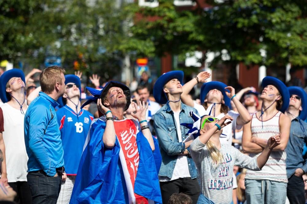 Photos: The Agony And The Ecstasy Of Iceland Vs. Austria