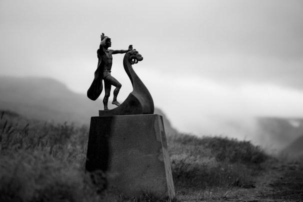 Eiríksstaðir. Photo by Art Bicnick