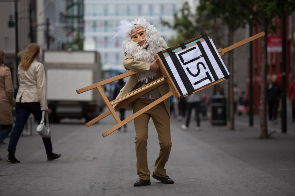 Götuleikhúsið Turns Reykjavík Into A Stage