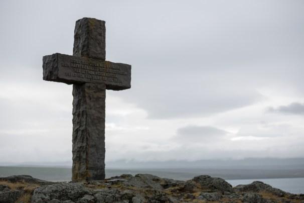 The Cross. Photo by Art Bicnick.