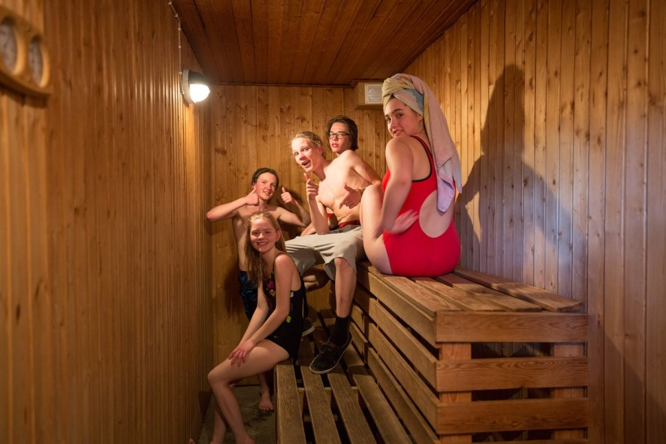 Sauna for adventurers.