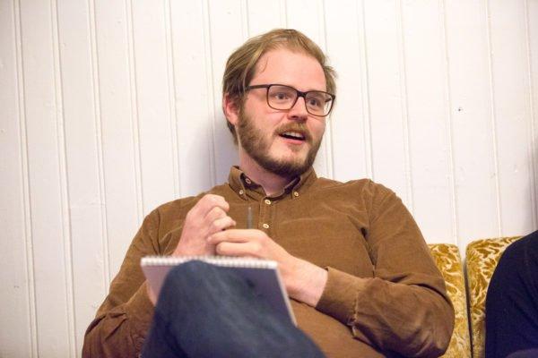 Sveinbjörn Pálsson by Art Bicnick