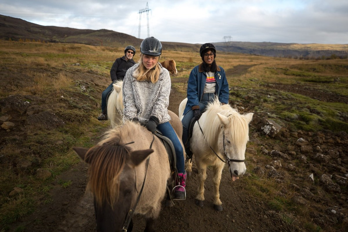 The Countryside Cavalry: Horseback Riding Through Lava Fields