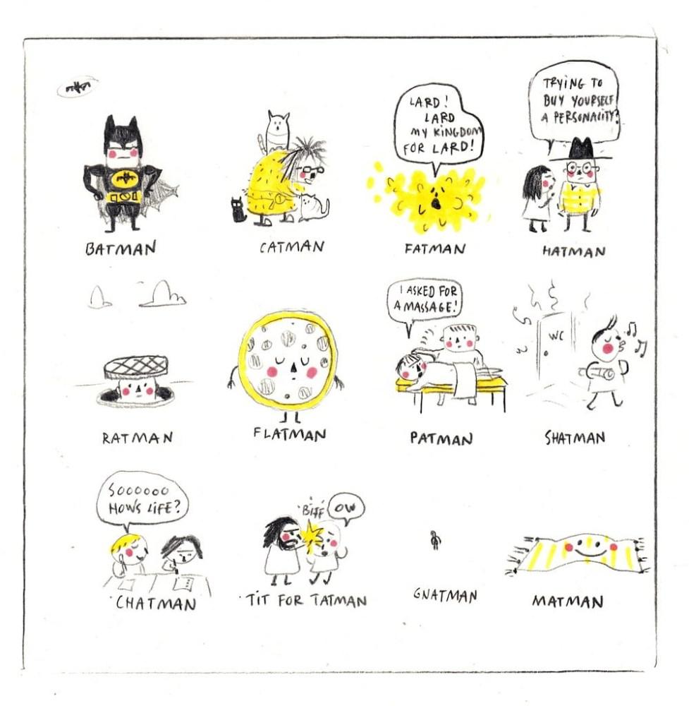 Comics: Lóa & Smjörfluga
