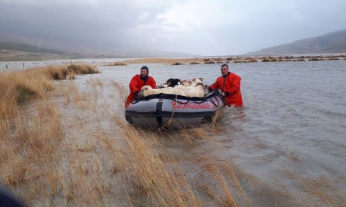 Serious Flooding In East Iceland Causing Widespread Damages