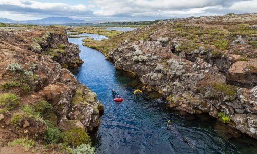 Child To Dive Between Tectonic Plates In Iceland