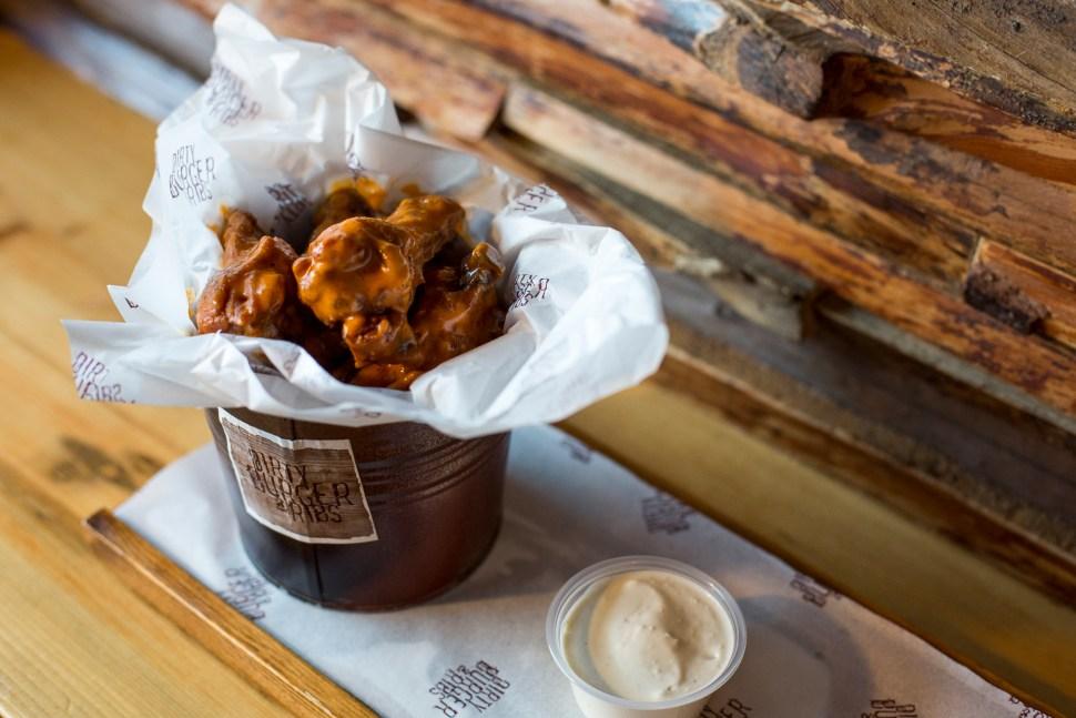 Chicken Wings at Dirty Burger & Ribs