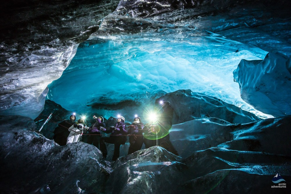 Sky Blue Ice Caves And Glacier Hike In Majestic Skaftafell