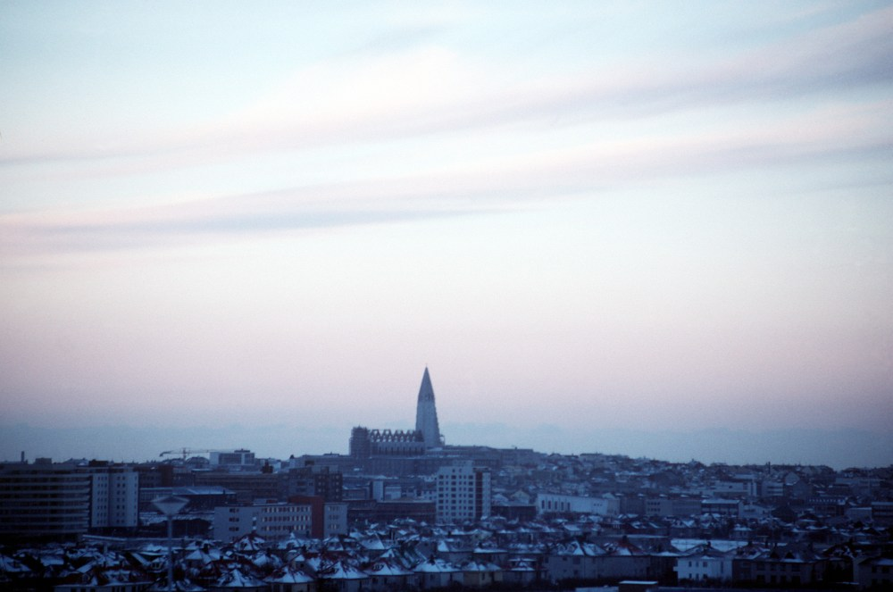 The Skeleton On The Hill: A Look At Hallgrímskirkja In Its Infancy