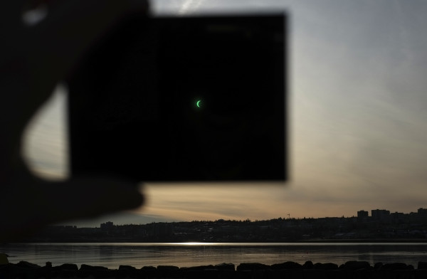 Eclipse pic by Anders Terp