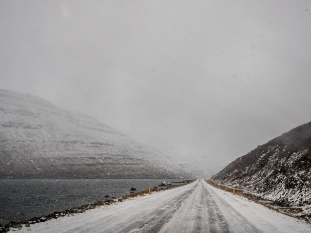 Driving Westfjords by Gabrielle Motola