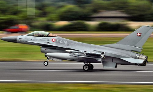 Danish Jets Patrolling Iceland's Airspace