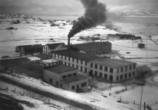 Factories at Glerá 1945