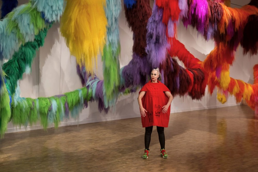 Hypernature: Shoplifter Showers The World With Colour