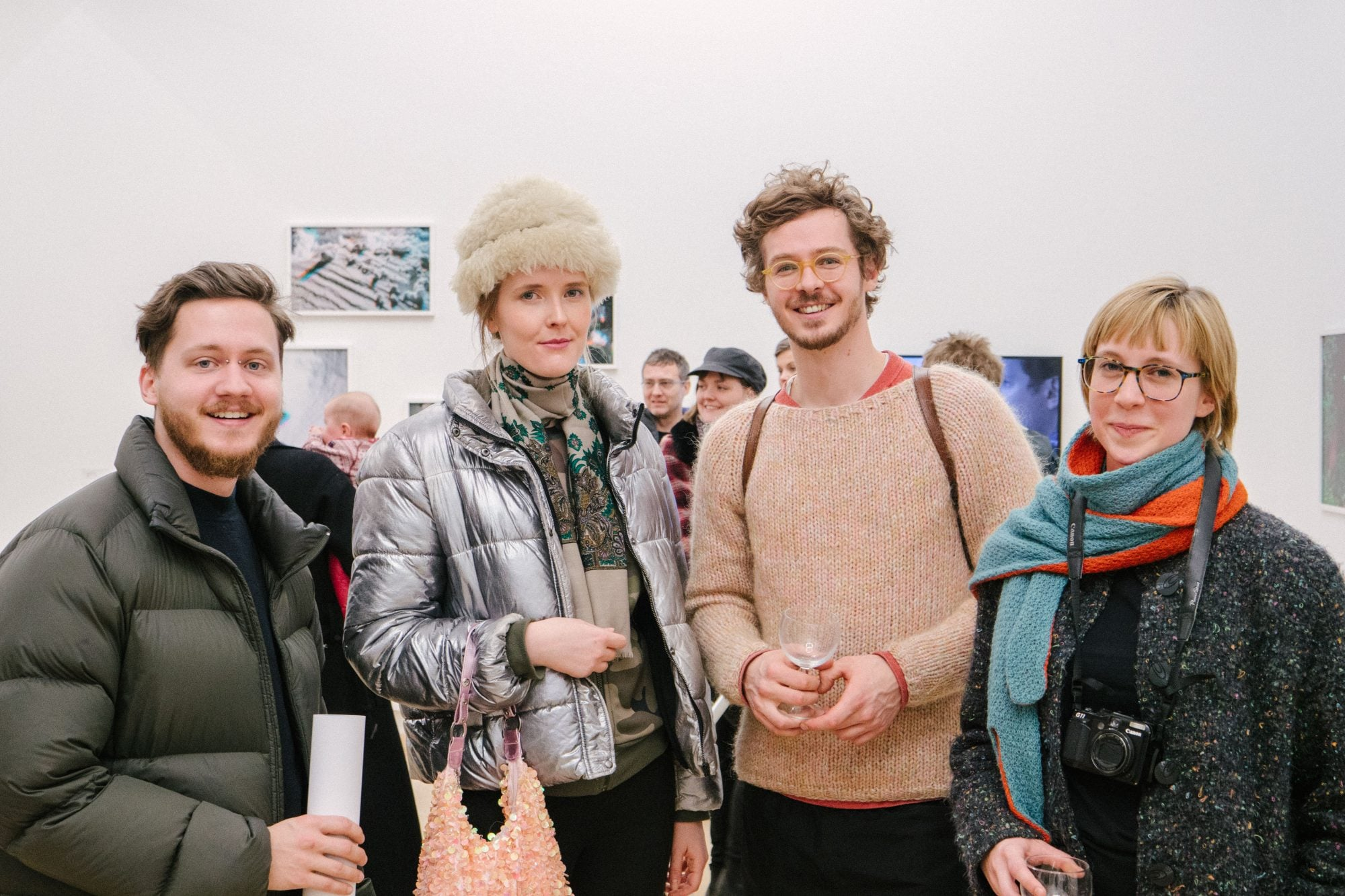 In Photos: Iceland's Art Crowd Gathers For 'Embody' Exhibition Opening