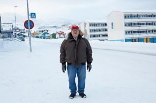 Greenlander In Nuuk