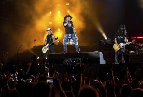 All Our Yesterdays: Guns N' Roses Take Reykjavik