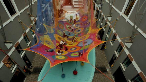 Harmonic Motion Aerial Yarn
