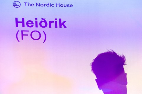 Heiðrik at The Nordic House