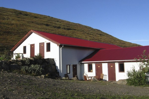 "An exterior picture of a runner up for ""Best accommodation westfjords"""