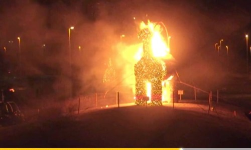 Event To Set Christmas Goat On Fire Worries IKEA Management