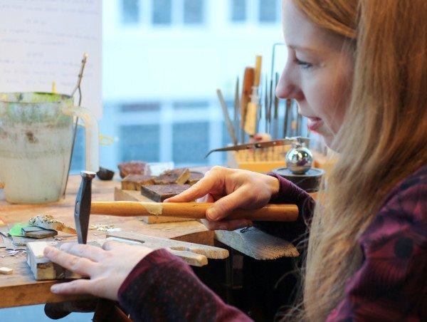 Helga Mogenson's studio by Art Bicnick